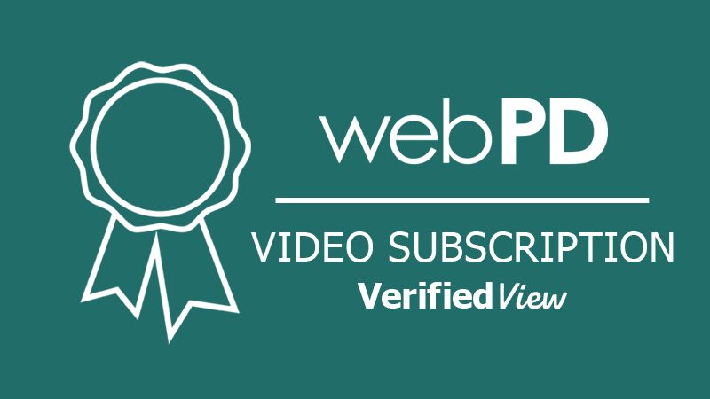 webPD Verified View