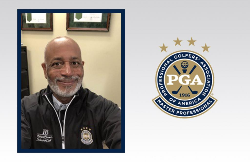 PGA Members Richard Brown III and Anthony G. Stepney  Become the First African-Americans to Earn  PGA Master Professional Designation