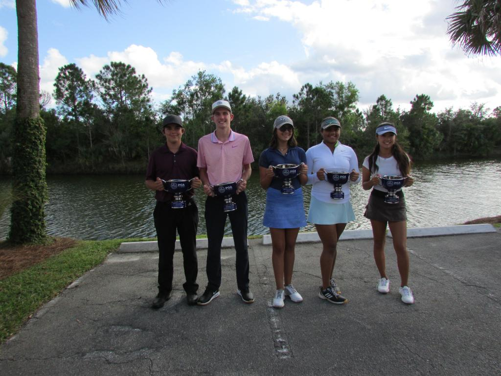 Yugay, Giles Headline South Florida PGA Junior Tour Players of the Year