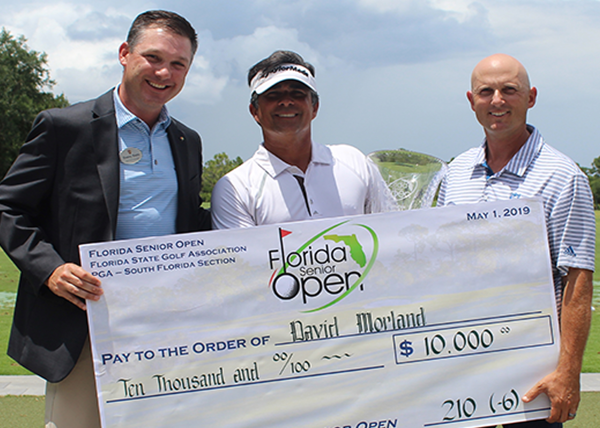 David Morland moved six spots up the leaderboard in the final round to capture the Florida Senior Open