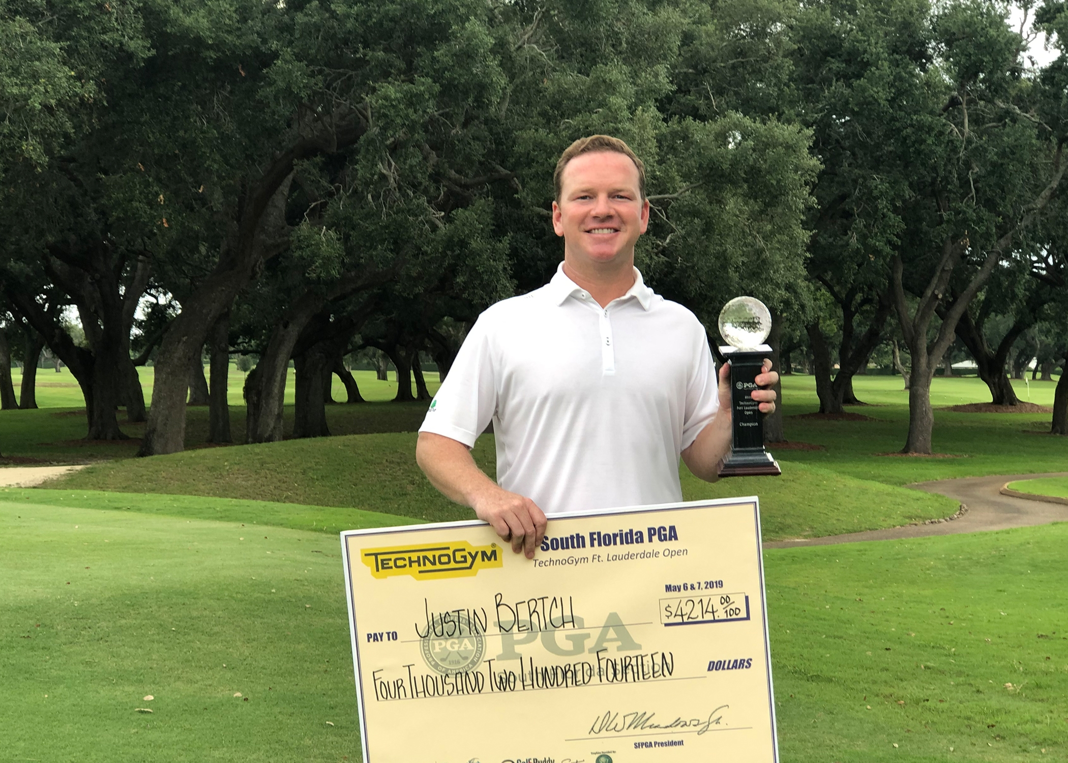 Bertsch of Naples Captures 2019 TechnoGym Fort Lauderdale Open Prior to Heading to the 2019 PGA Championship at Bethpage