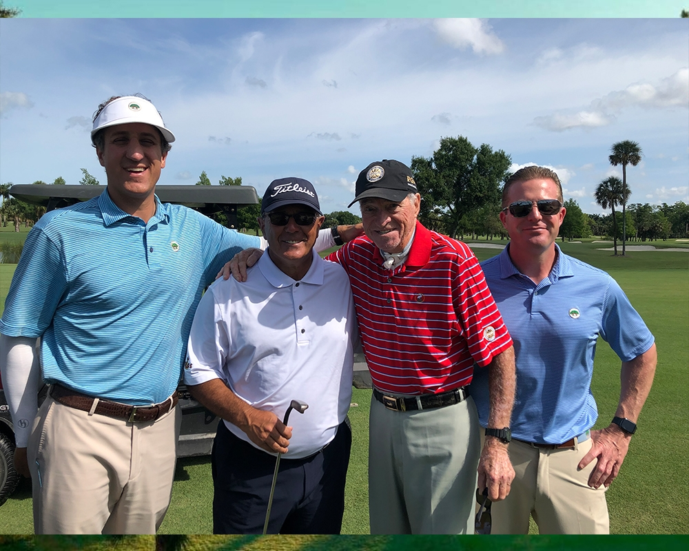 Tom Patri, PGA Played 140 Holes in Support of the South Florida PGA Foundation