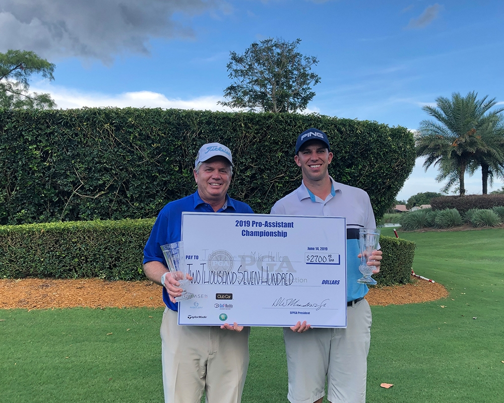 Imperial Hosts PGA Professionals Lee-Heller Win South Florida Pro-Assistant Championship