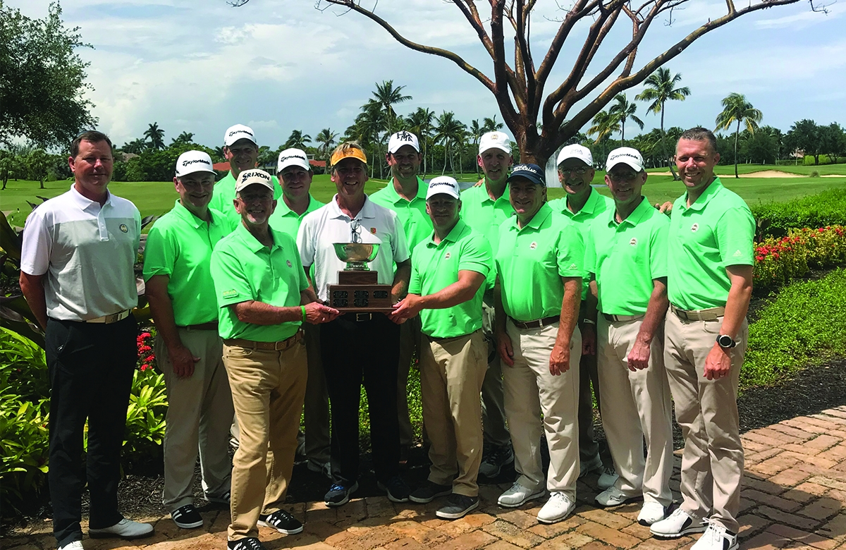 Southeast Chapter Retains 2018 Nelson Cup