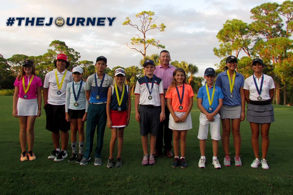 43 Players Competed at Sandridge Golf Club for the eleventh Prep Tour Event of 2018