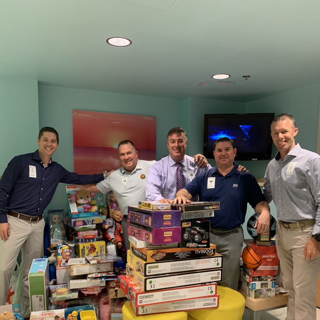 PGA Professionals of the Southeast Chapter Deliver Gifts to Palm Beach Children's Hospital During Second Annual Toy Drive.