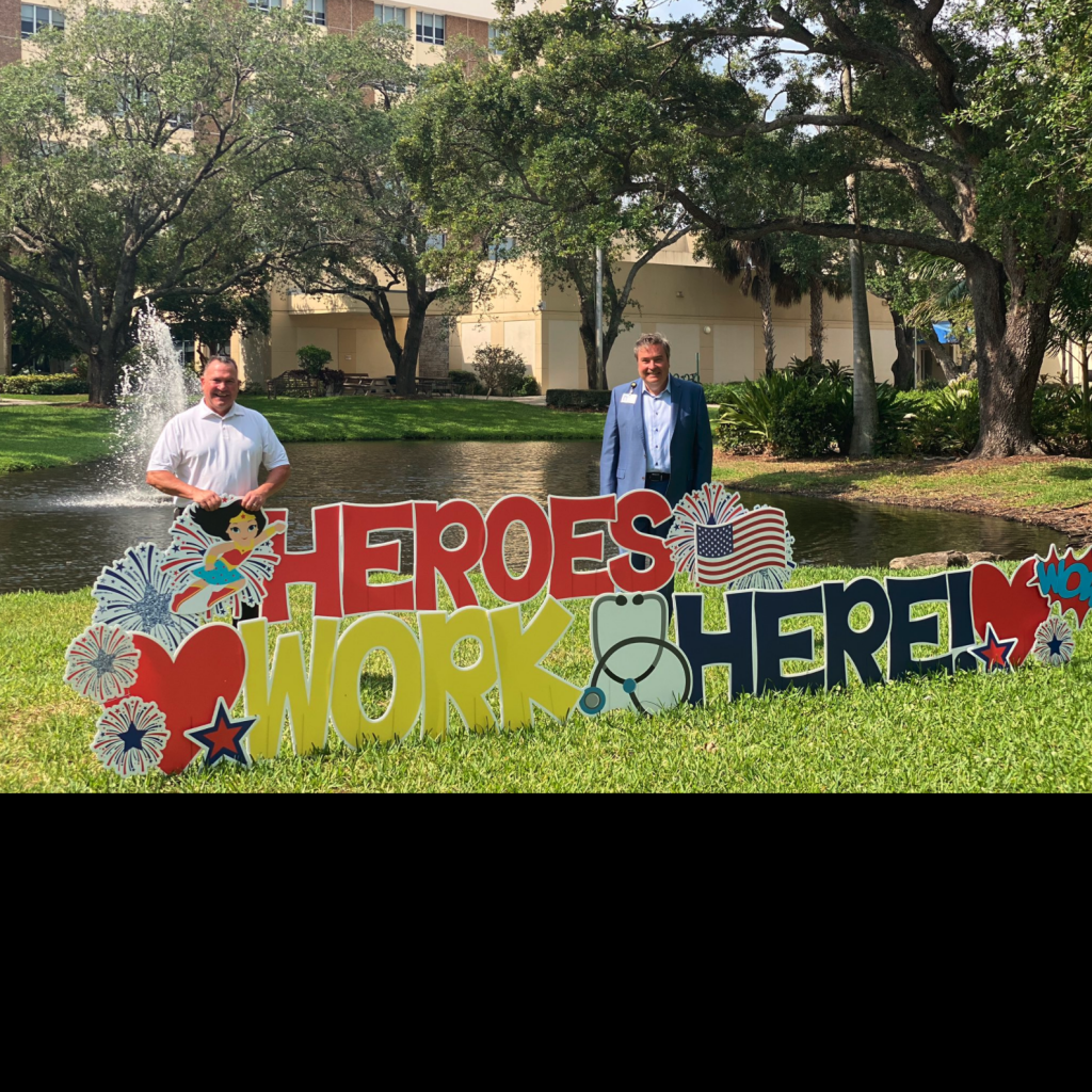South Florida PGA Golf Courses Donate Food to Hospitals During COVID-19 Pandemic