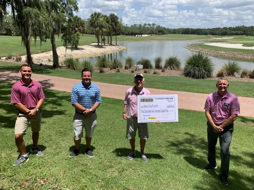 Mike San Filippo Wins Senior Division of E-Z-GO South Florida Open; Morin Vies for 4th Overall Title