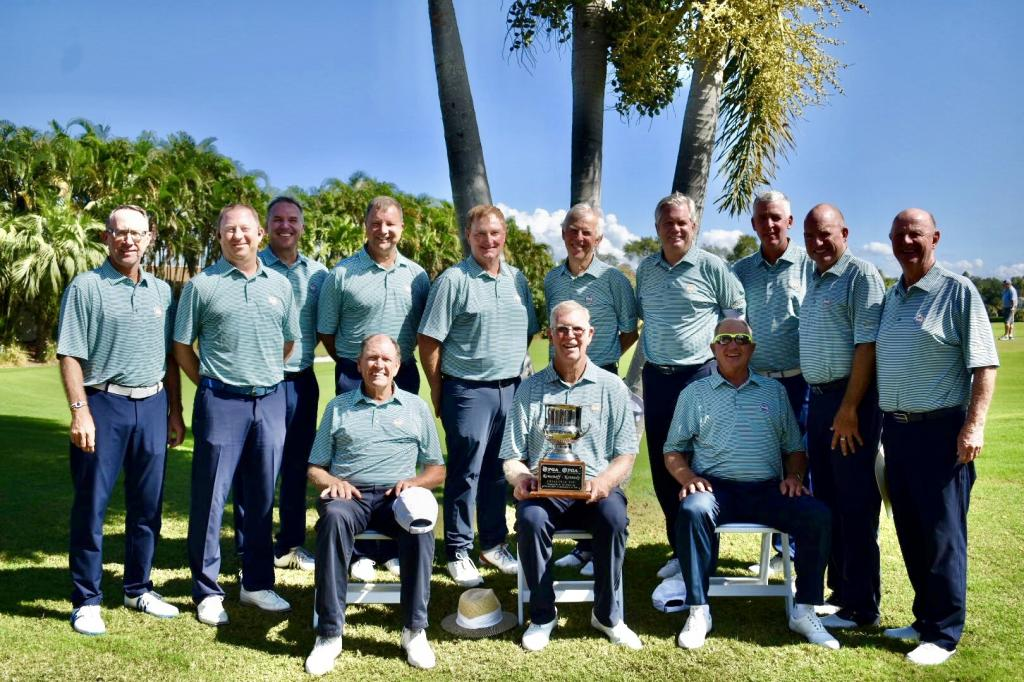 Senior Challenge Cup Matches Held at Belleair Country Club