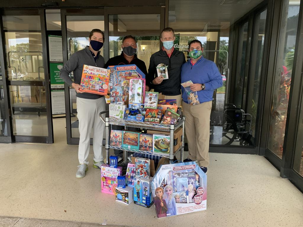 SFPGA Supports Children's Hospitals With Holiday Toy Drive