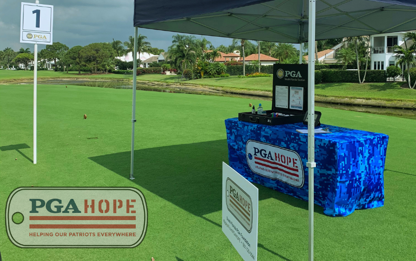 FIFTH ANNUAL PGA HOPE CLASSIC RAISES $73,000 TO SUPPORT LOCAL VETERANS