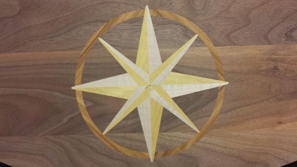 COMPASS ROSE 10""