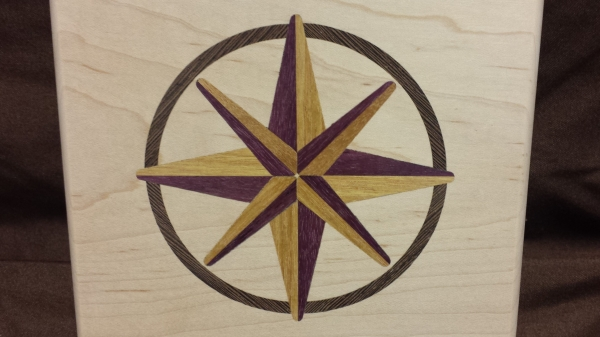 COMPASS ROSE 4""