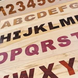 Multiple Layer Inlay Stencils - Wood Inlays Made Easy - Tarter