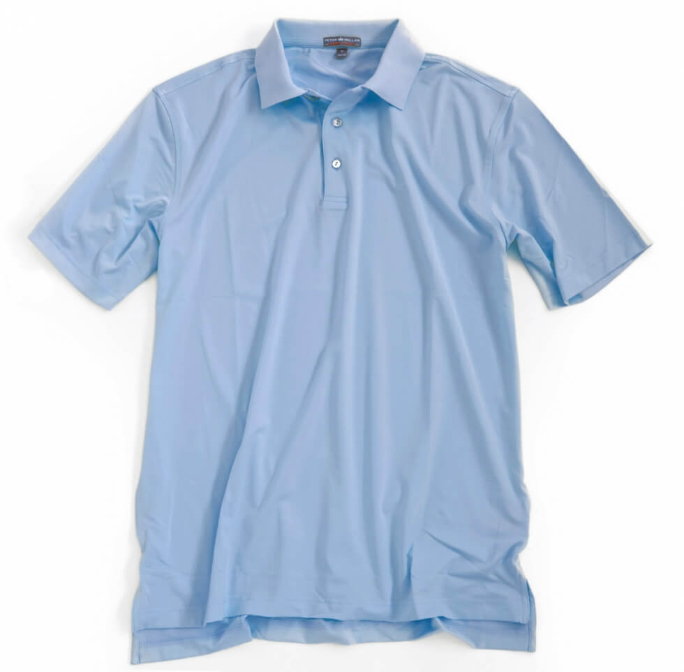 Solid Stretch Jersey Golf Shirt