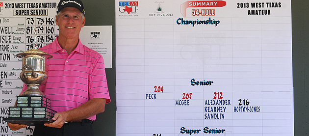 Mike Peck Claims Senior Title at 85th West Texas Amateur
