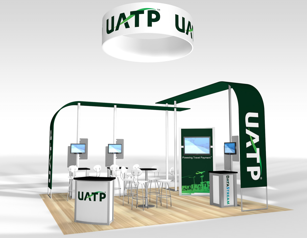 20x20 Rental Trade Show Displays