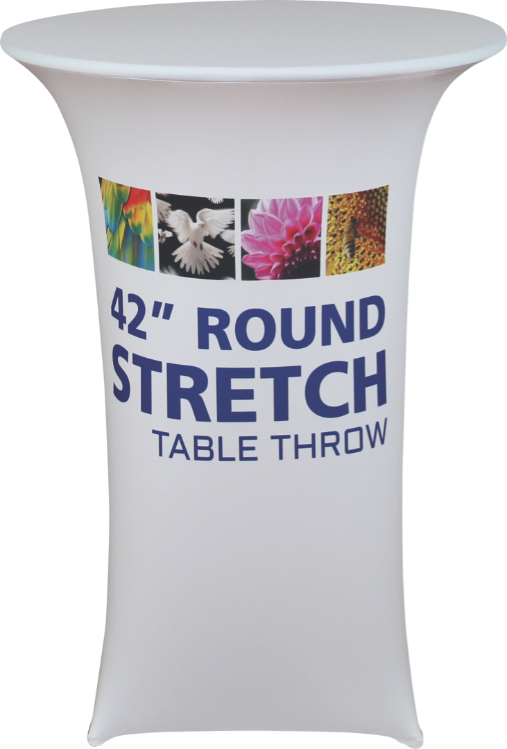 "42"" Stretch Round Table Throw"