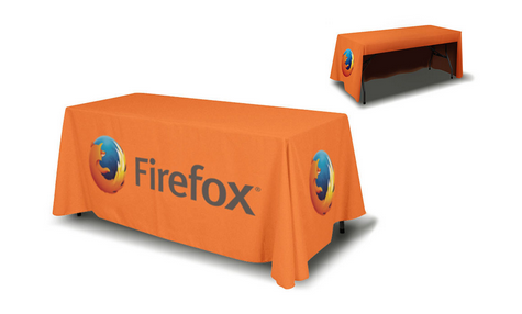 Economy 6 3 Sided Full Color Table Cover