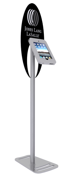 MOD-1368 iPad Kiosk with graphics