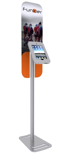 MOD-1369 iPad Kiosk with graphics