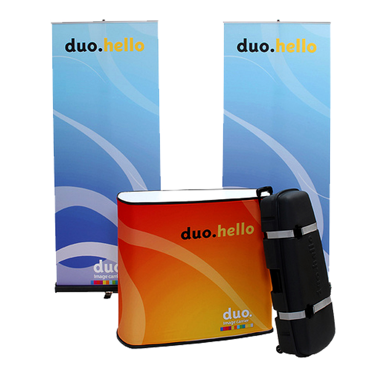 DUO Hello Banner Stand Kit