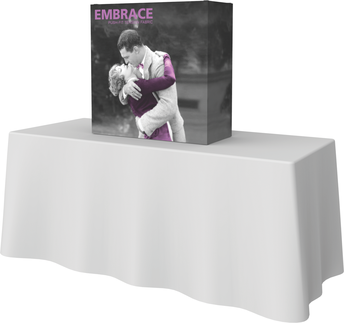 Embrace 1x1 front graphic with endcaps