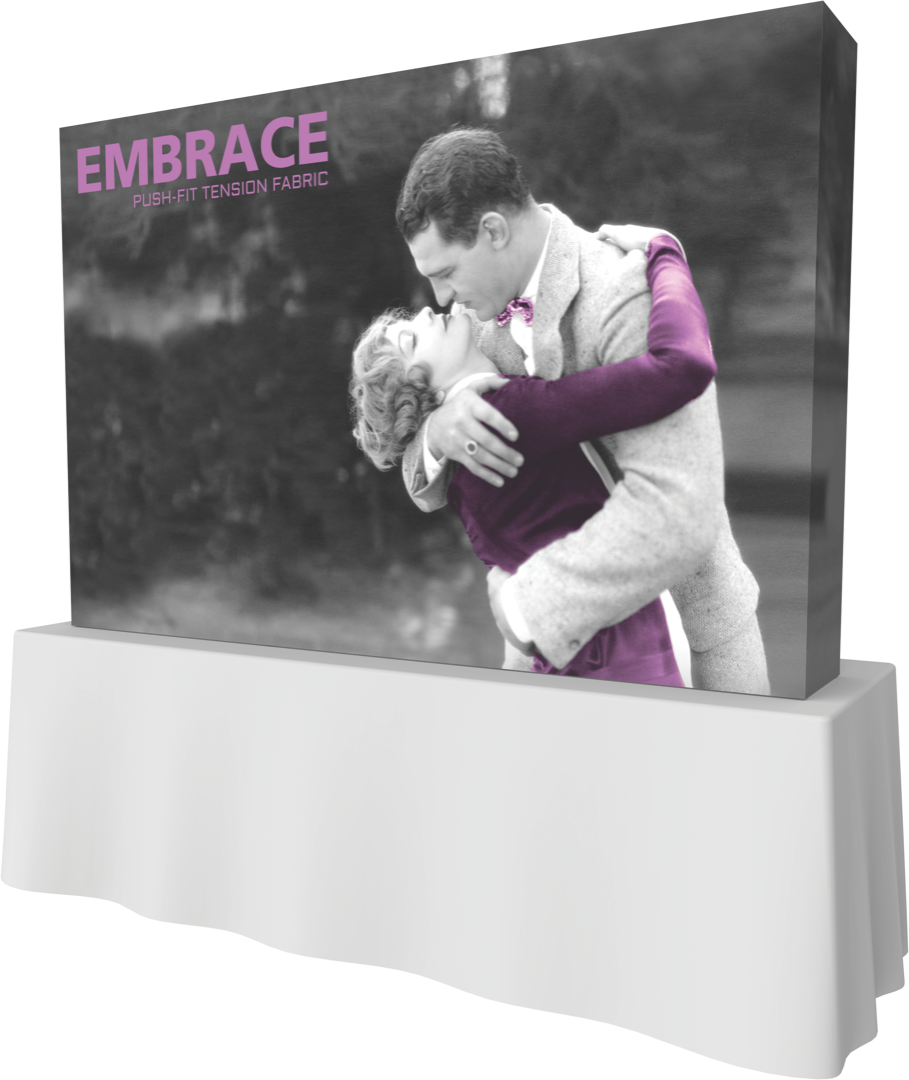 Embrace 3x2 front graphic with endcaps