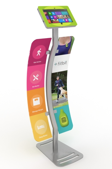 MOD-1339M Surface Stand with graphics