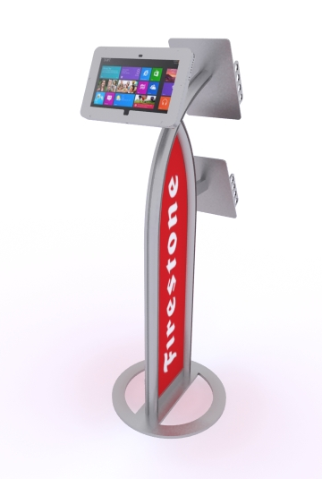 MOD-1353M Surface Stand with graphics