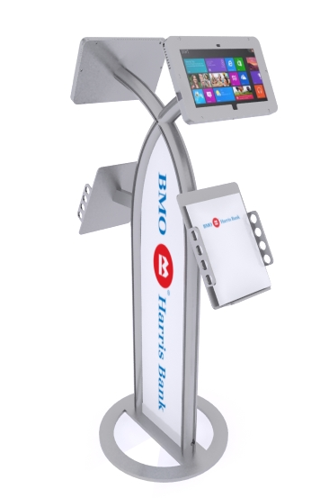 MOD-1355M Surface Stand with graphics