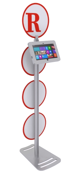 MOD-1367M Surface Stand with graphics