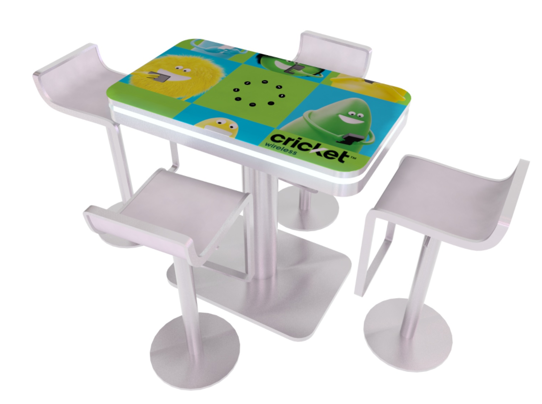 MOD-1443 InCharg Portable Charging Table