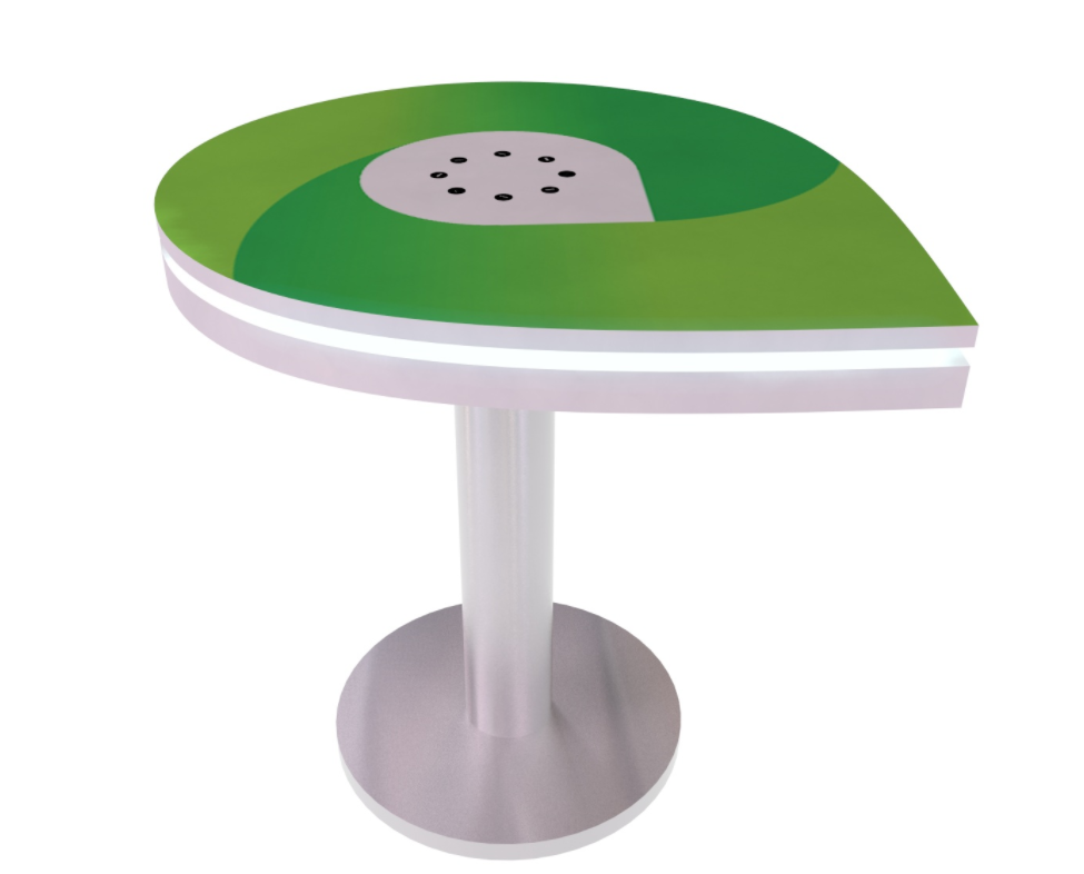 MOD-1444 InCharg Charging Table with Graphics