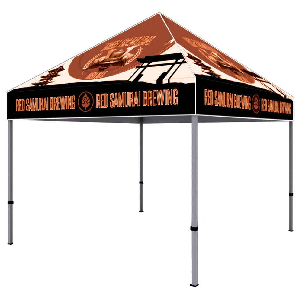 ONE CHOICE - 10 Ft. Aluminum Canopy Tent Dye-Sub Graphic Package