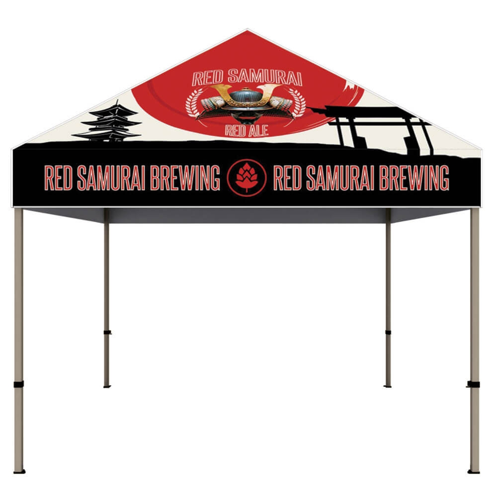 ONE CHOICE - 10 Ft. Steel Canopy Tent Dye-Sub Graphic Package