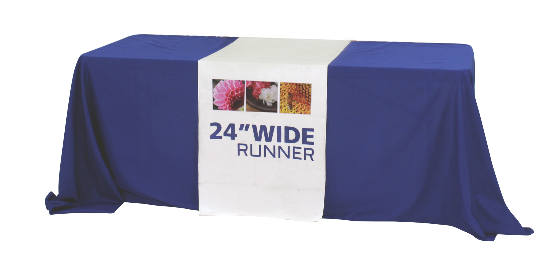 "Premium Dye Sub 24"" Table Runner Full"