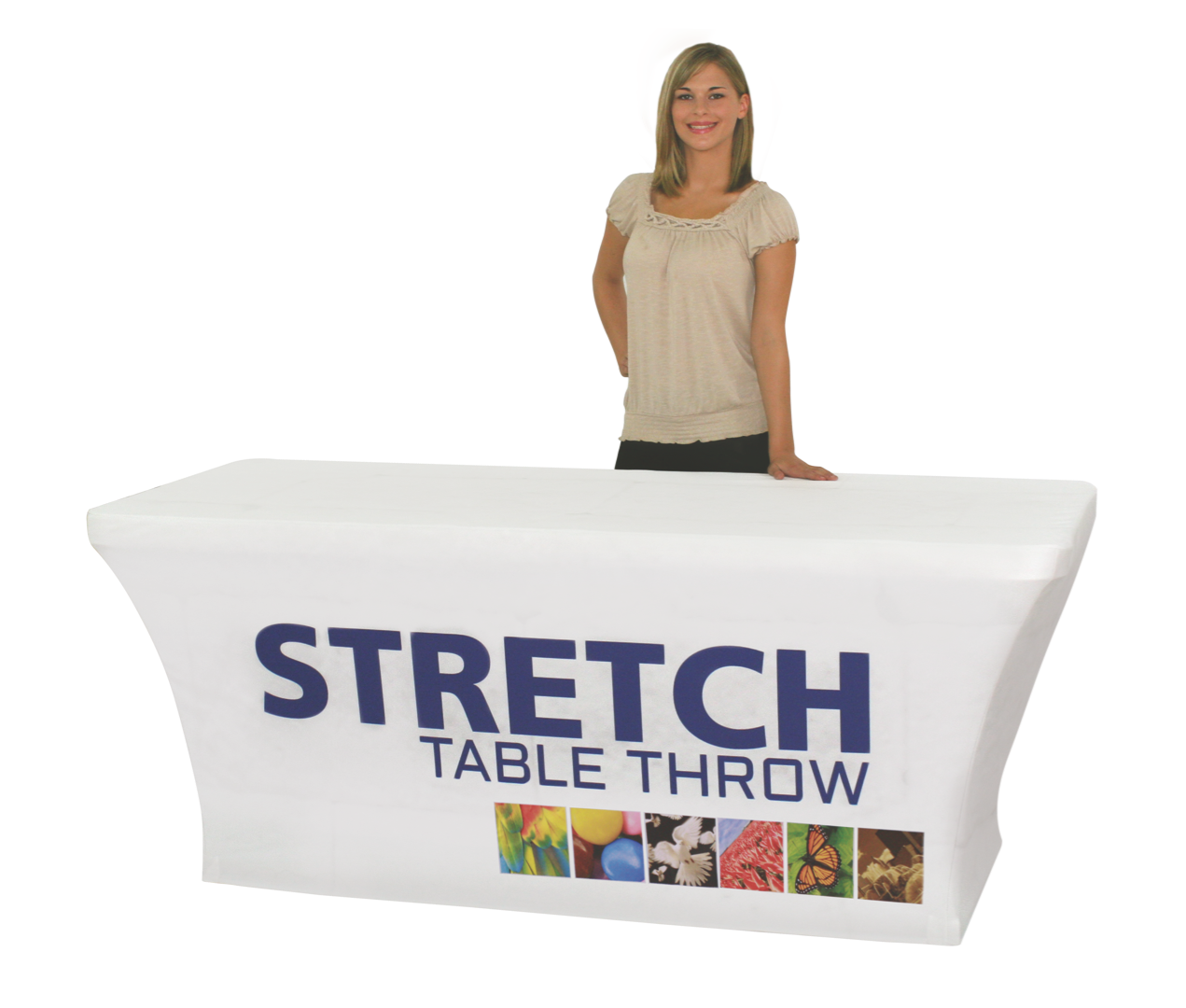 6ft Stretch Table Throw