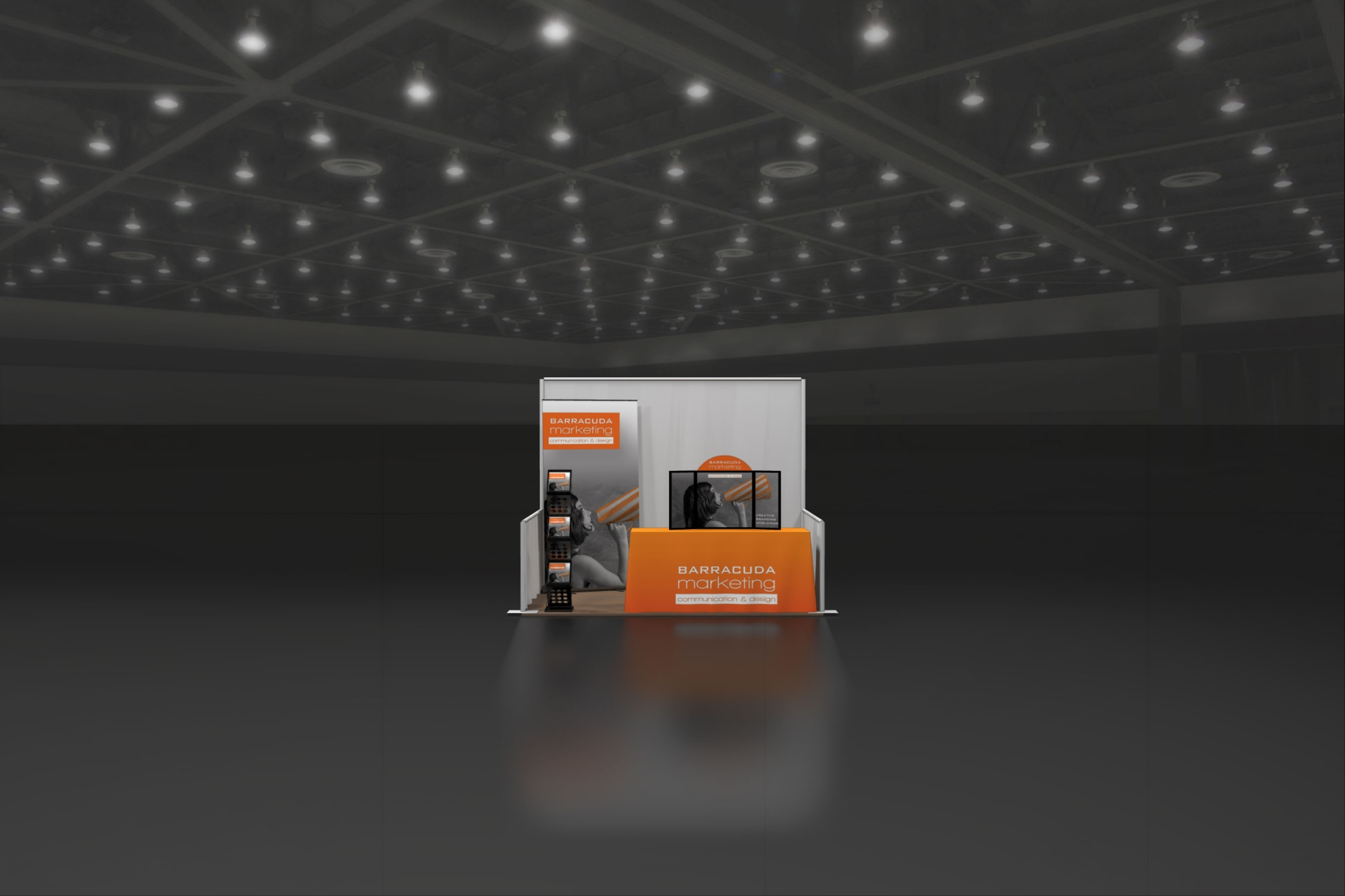 Table Top Trade Show Display Kit 06