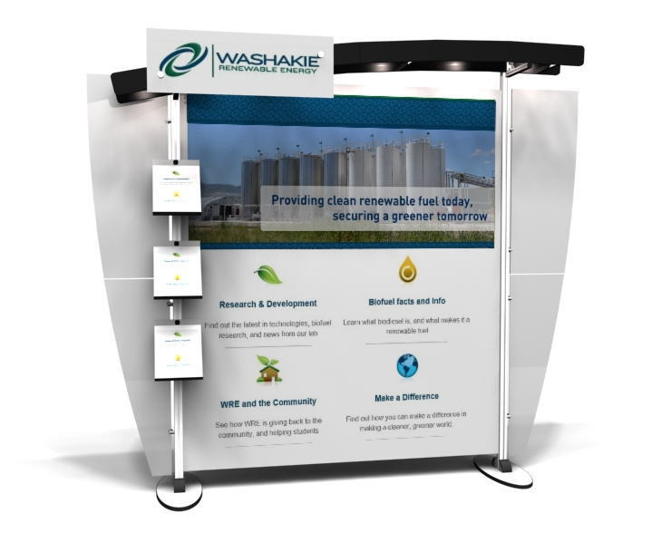 10x10 Rental Trade Show Displays