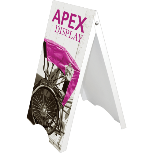 APEX A-FRAME DISPLAY STAND SIGN