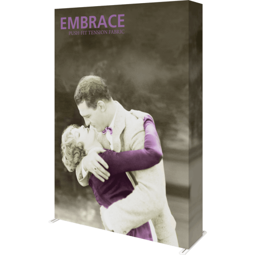Embrace 2x3 front graphic with endcaps