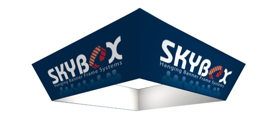 "12 x 42"" Tapered Square Skybox"