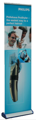 "Quickscreen 3 19"" wide Banner Stand"
