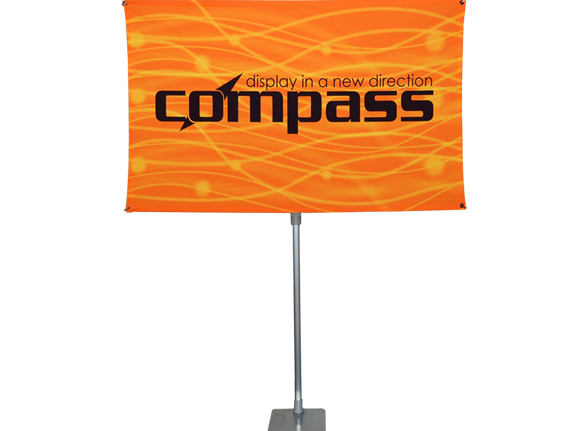 "Compass 36"" x 78"" Banner Stand"