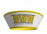Aviator Tapered Circle Hanging Sign 10 x 36""