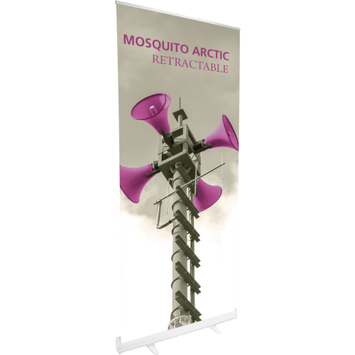 MOSQUITO 850 ARCTIC RETRACTABLE BANNER STAND