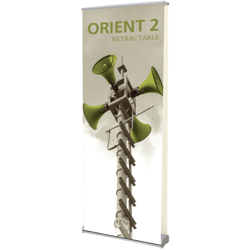 ORIENT 800 DOUBLE RETRACTABLE BANNER STAND