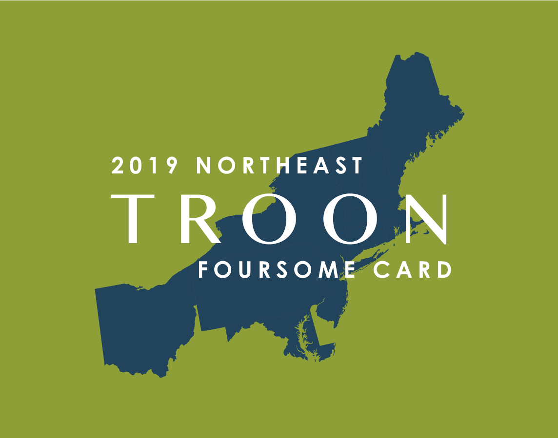 2019 Northeast FourSome Card
