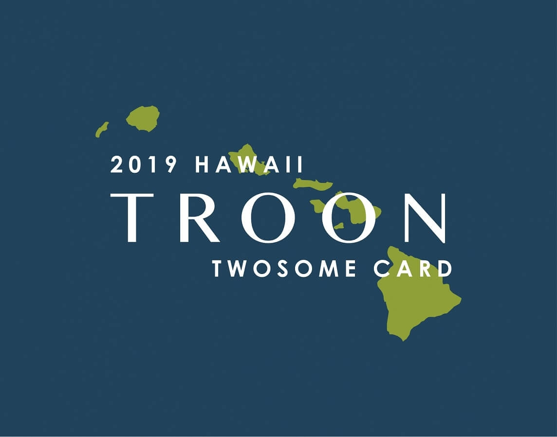 2019 HI TwoSome Card